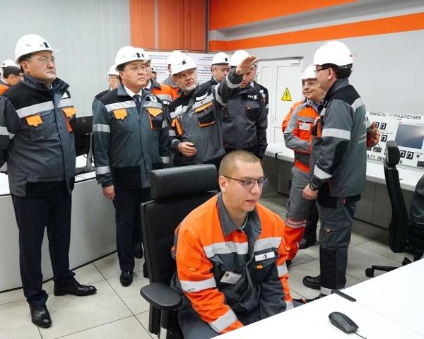 Аскар Мамин посетил Павлодарскую область