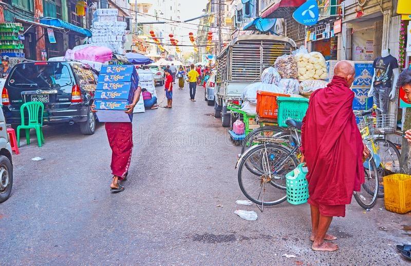 Китайский квартал в Янгоне