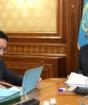 Президент заслушал отчет главы Нацбанка