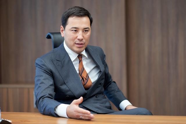 Димаш Досанов, генеральный директор АО «КазТрансОйл»