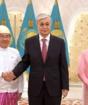 Верительные грамоты Президенту РК вручили послы четырех стран
