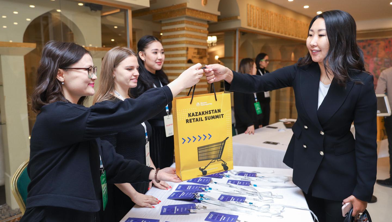 На фото: Kazakhstan Retail Summit в Алматы  собрал представителей компаний-лидеров рынка