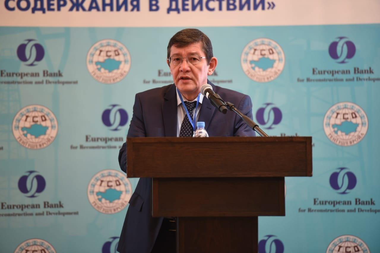 На фото: Рзабек Артыгалиев, генеральный менеджер по связям с правительством и общественностью ТШО