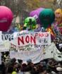 Во Франции продолжаются протесты после обещания премьера смягчить пенсионную реформу